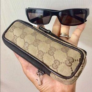 🖤Authentic Gucci case + sunglasses
